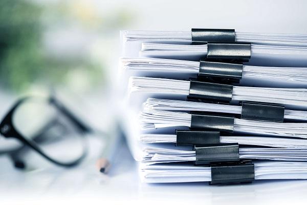 Baufinanzierung Unterlagen und Dokumente